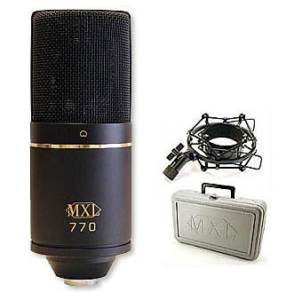 MXL 770 Microphone Review