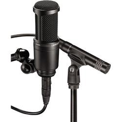 Audio-Technica AT2041SP Cardioid Condenser Studio Microphone Package