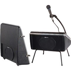 AmpliVox S122A Showstyle Roving Rostrum with Wired Microphone