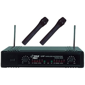 Pyle Dual UHF Wireless Microphone