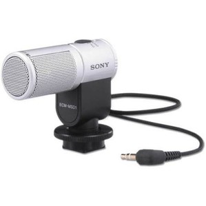 Sony ECMMSD1 Stereo Zoom Camcorder Microphone